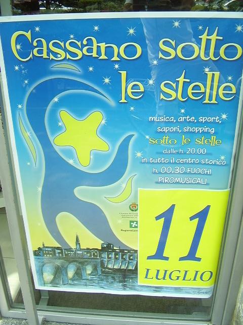 10.7.2009 Dissuasori e cartelli Cassano sotto le stelle 006